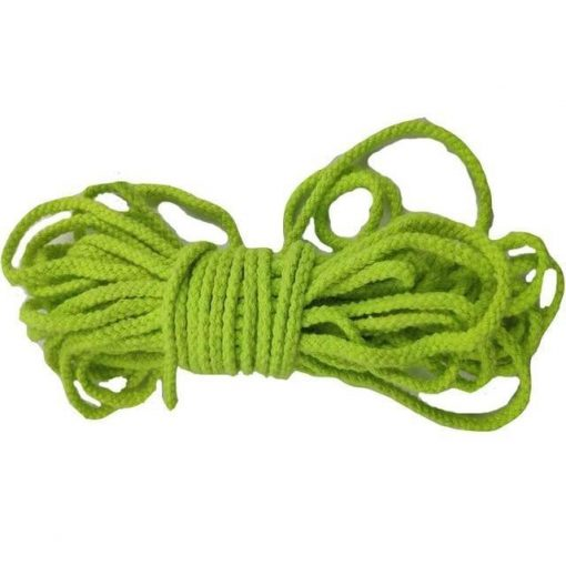 Macramé Cord Fluo Green 5mm for 50m